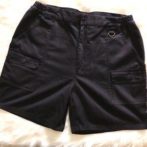 Haband cargo navy uniform shorts